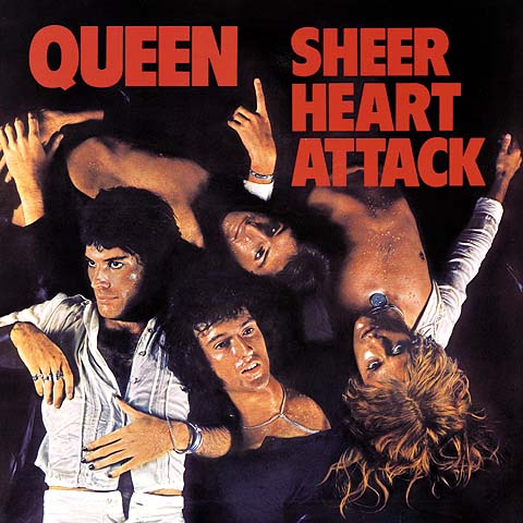 Sheer heart attack 1974 artwork