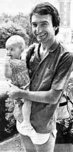 John Deacon z córką Laurą