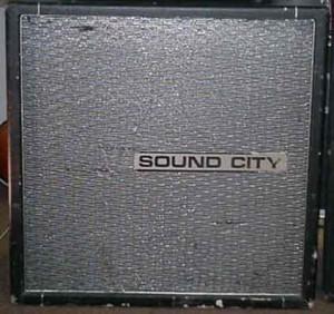 Sound City 4 x 12  - cena ok. 400 dolarów