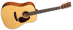 Gitara Martin D-18- model poglądowy, cena 2-5 tys. dolarów.