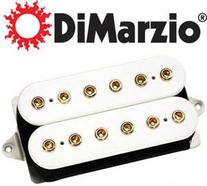Pickup marki DiMARZIO - przykładowy model ceny od 20 do 150 euro.