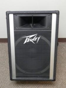 Głośnik Peavey z lat 80. moc 300W, cena ok. 400 dolarów.
