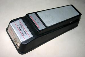 Jeden z modeli pedału marki Schallerf z lat 70. Cena ok. 400 zł.