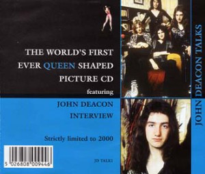 talk John Deacon CD