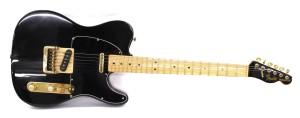 Fender Black-Gold Telecaster - model poglądowy, cena 1,1tys. do 1,5 tys. dolarów